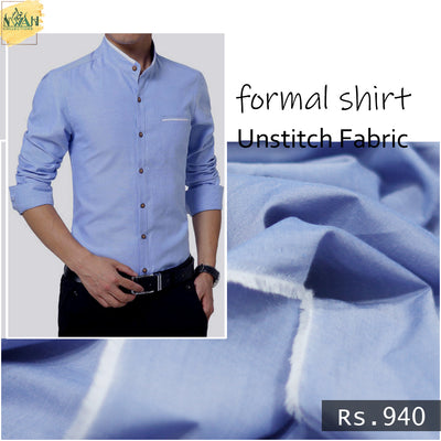 formal shirt in italian cotton unstitch fabric