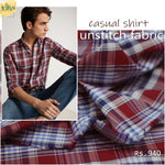 casual shirt unstitch fabric