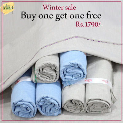 Winter sale Buy one get one free