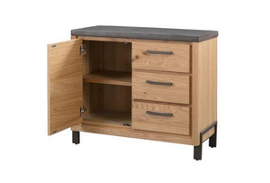Trentino Sideboard with Cupboard and 3 Drawers