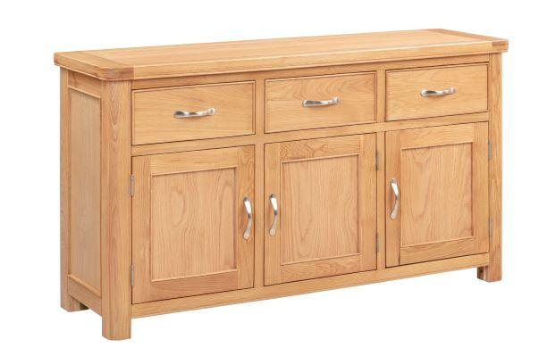 Chatsworth Oak 3 Door Sideboard