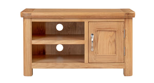 Load image into Gallery viewer, Chatsworth Oak Small TV Unit