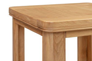 Chatsworth Oak Lamp Table