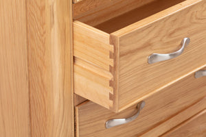 Chatsworth Oak 2 Over 3 Chest of Drawers