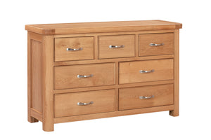 Chatsworth Oak 3 Over 4 Chest of Drawers