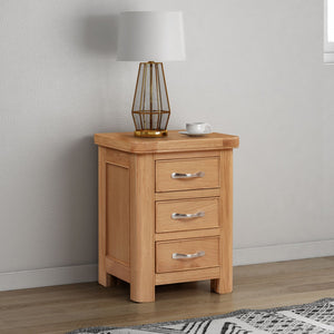 Chatsworth Oak Bedside Cabinet