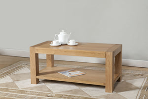 Lucerne Coffee Table with Shelf