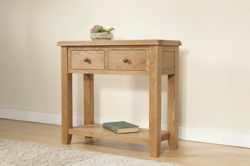 Shrewsbury Console Table with 2 Drawers