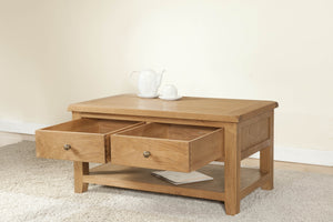 Shrewsbury Coffee Table with Drawers