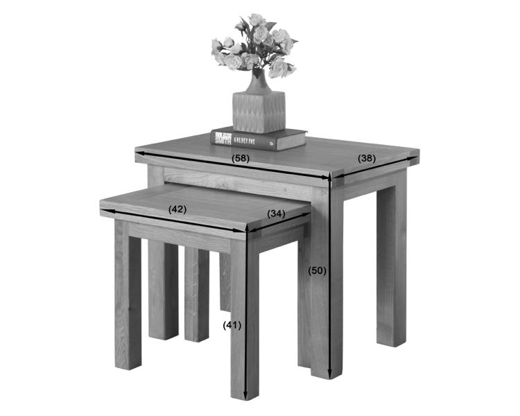 Valencia Nest of 3 Tables
