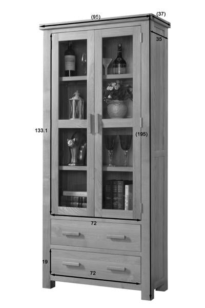 Valencia Large Display Cabinet