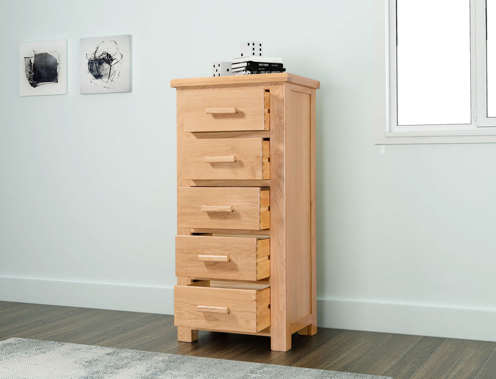 Valencia 5 Drawer Tall Chest