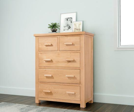 Valencia 2 over 3 Chest of Drawers