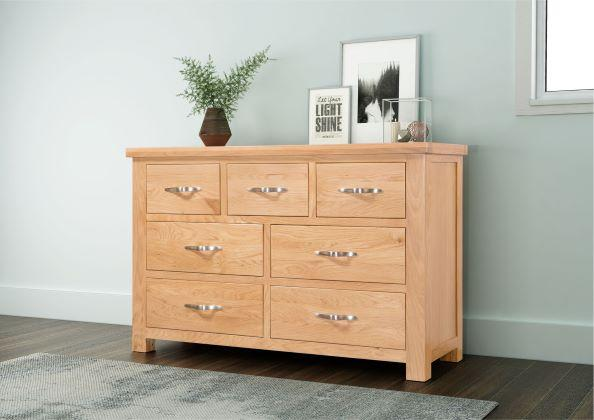 Valencia 3 over 4 Chest of Drawers