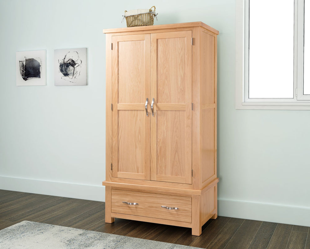 Valencia Double Wardrobe with Drawer