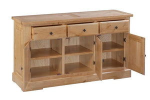 Tuscany 3 Door 3 Drawer Sideboard