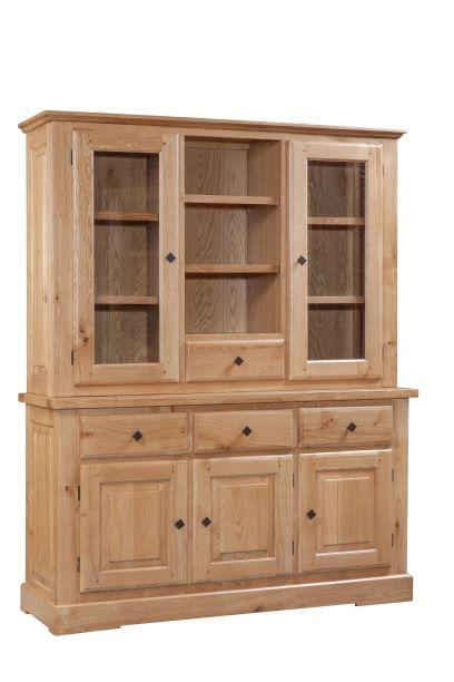 Tuscany Hutch for 3 Door 3 Drawer Sideboard