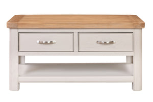 Chatsworth Painted Coffee Table with Drawers