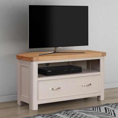 Chatsworth Painted Corner TV Unit