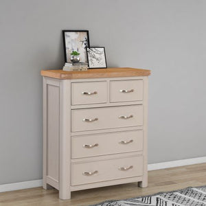 Chatsworth Painted 2 Over 3 Chest of Drawers