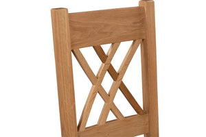 Chatsworth Oak Dining Chair (Pair)