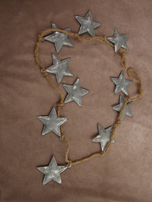 Metal Star Rope Garland