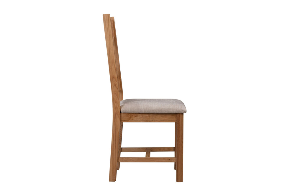 Load image into Gallery viewer, Chatsworth Oak Dining Chair (Pair)