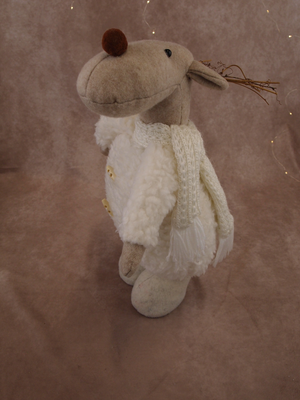 Woolly Moose with Scarf