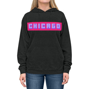 Chicago Pink Box Lightweight Hoodie