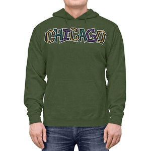 Abstract Chicago Lightweight Hoodie