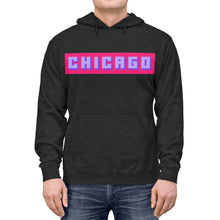 Load image into Gallery viewer, Chicago Pink Box Lightweight Hoodie