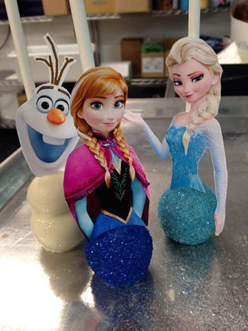 Frozen 2 Cake Pops