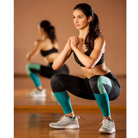 Squats for pelvic floor muscles