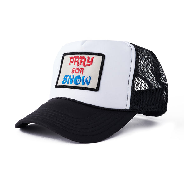 Pray For Snow Trucker Hat