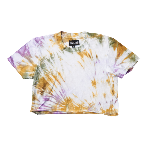 Tie Dye Crop Tee (Multi/Medium)