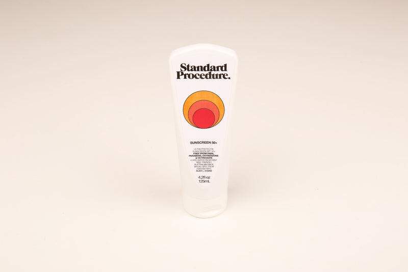 Standard Procedure Sunscreen 50+ 125ml