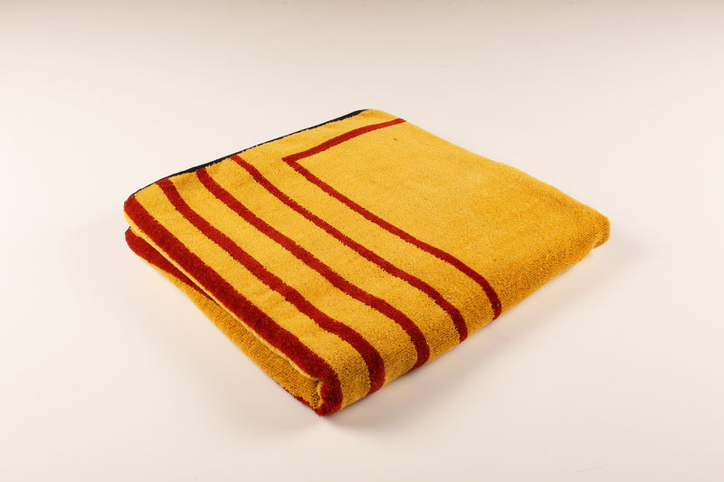Striped Rose Towel