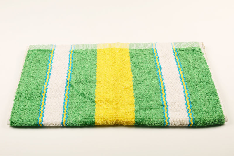 Yellow, Green & Blue Striped Towel