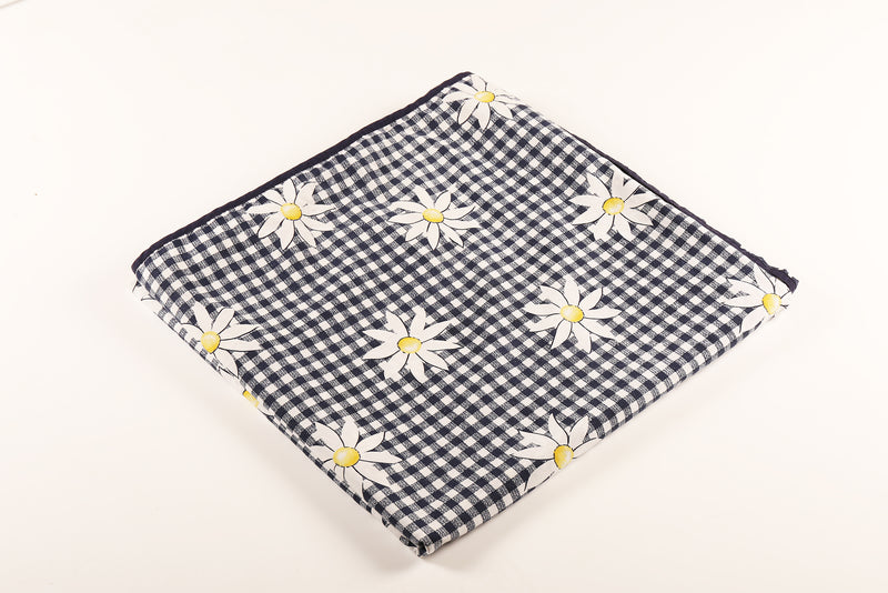 Reversable Gingham Daisy Doona Cover