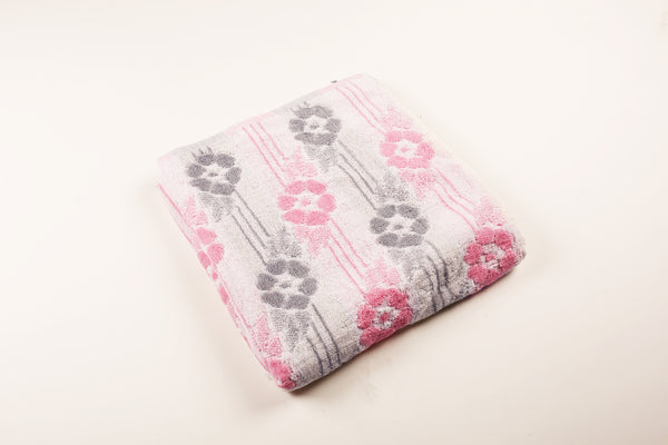 Hibiscus Striped Towel