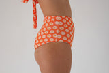 Abbie 'High' Bottom - Orange Daisy