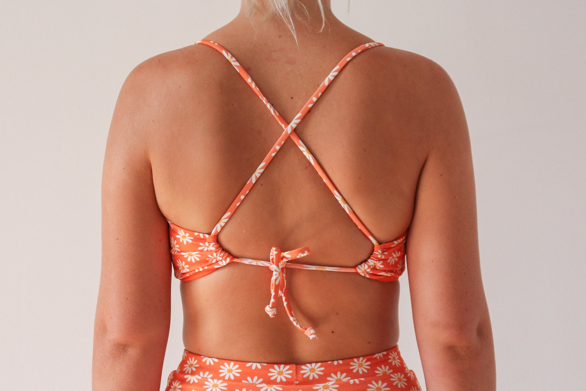 Bella Top  - Orange Daisy