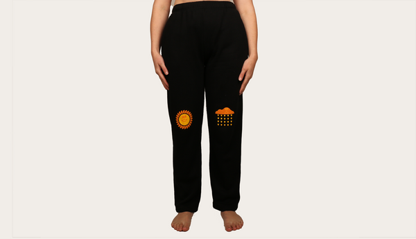 Sunshower Track Pants Black