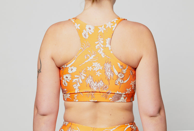 Crop Top - Aussie Floral