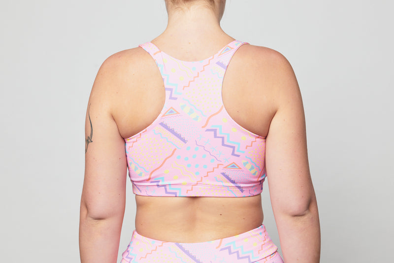 Crop Top - Pink Heartbreak