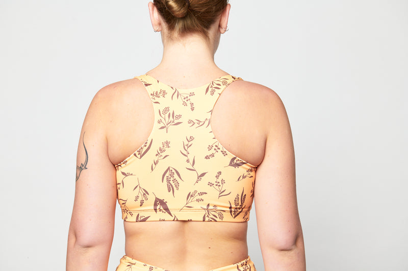 Crop Top - Wattle