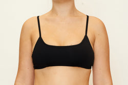 Bella Top  - Recycled Black