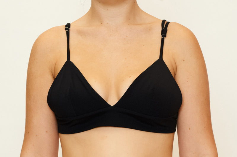 Zoe Top  - Recycled Black