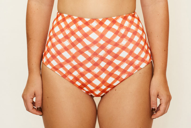 Katie Bottom - Brushstroke Gingham