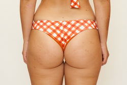 Nikki Bottom - Brushstroke Gingham